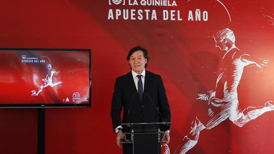 El presidente del Consejo Superior de Deportes, José Ramón Lete. EFE/Zipi