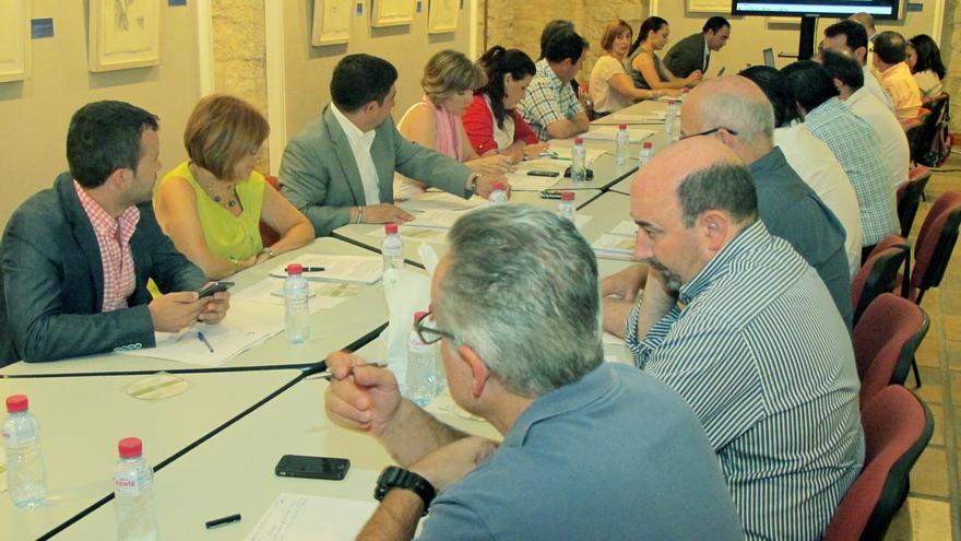 El Consejo del Olivar, durante la presentación del estudio / Diputación de Jaén