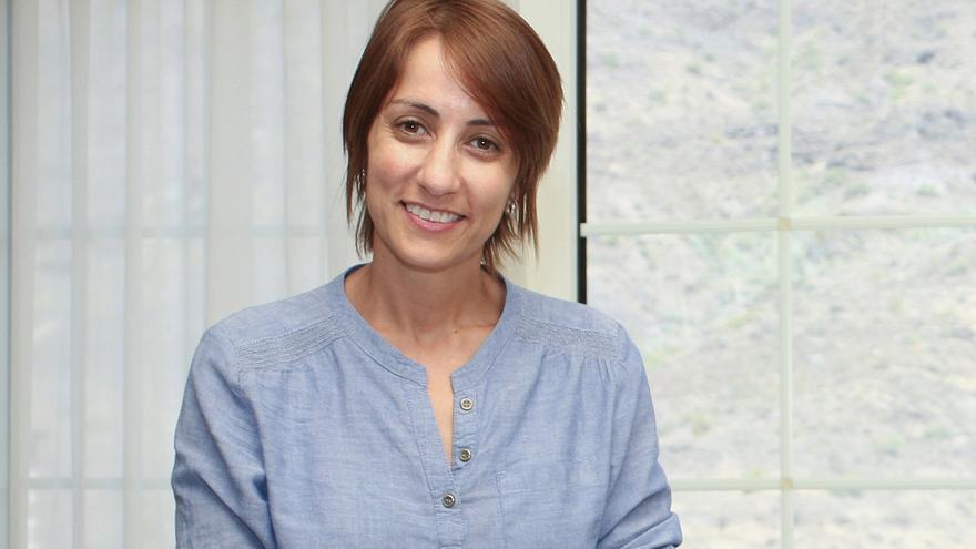 La alcaldesa de Mogán, Onalia Bueno (ALEJANDRO RAMOS)