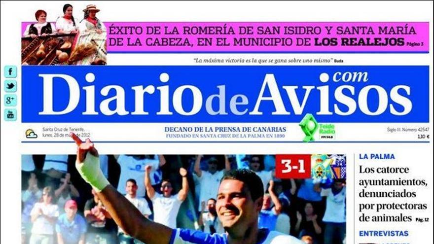 De las portadas del día (28/05/2012) #3