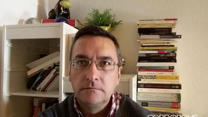 El selfie de Salvador Gutiérrez Solís.
