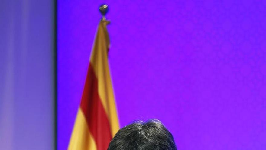 Puigdemont: El 1 de octubre se acabará la legislatura autonómica