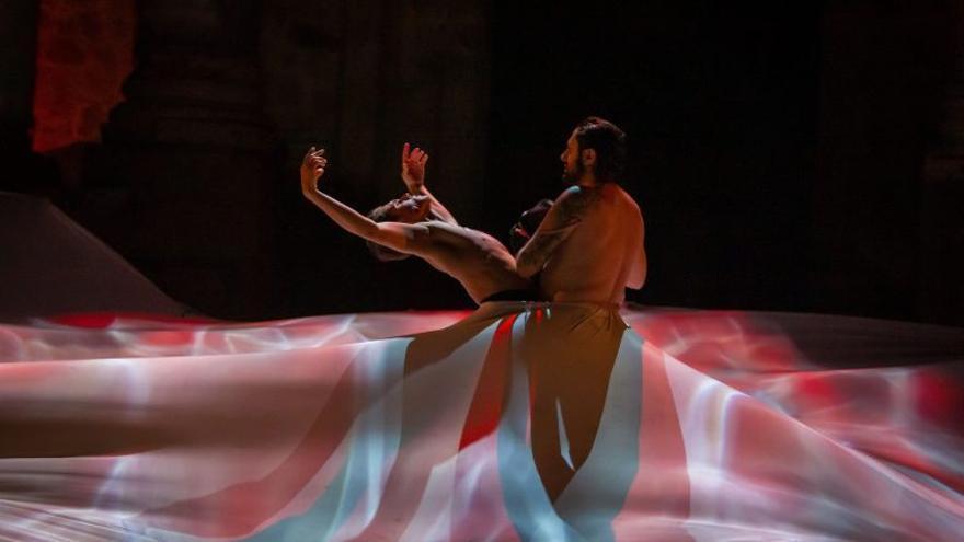 'Dionisio', el cuarto estreno de la 65 edición del Festival Internacional de Teatro Clásico de Mérida, dirigido por el bailaor y coreógrafo Rafael Amargo