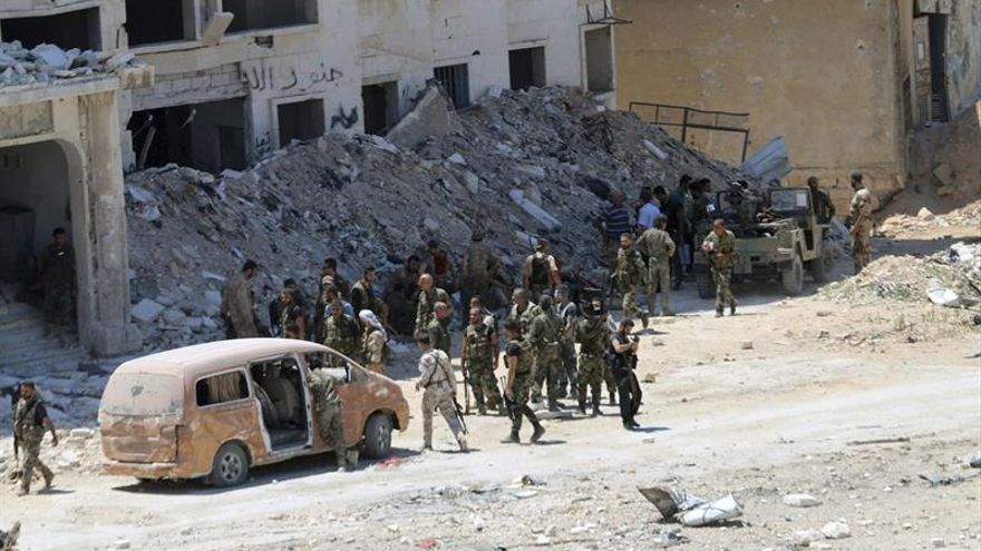 Rebeldes lanzan una contraofensiva en zonas al sur y al oeste de Alepo