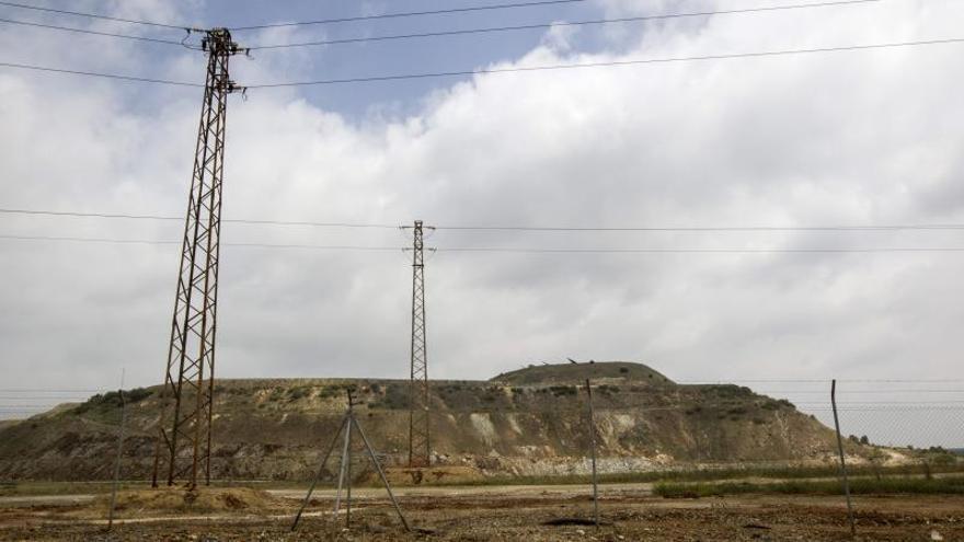 Imagen del emplazamiento de la mina de Aznalcóllar (Sevilla).