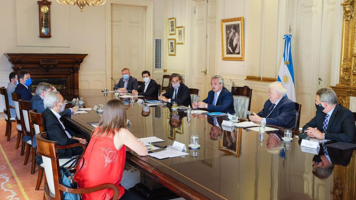 Reunión del comité gubernamental de vacunación contra el coronavirus
