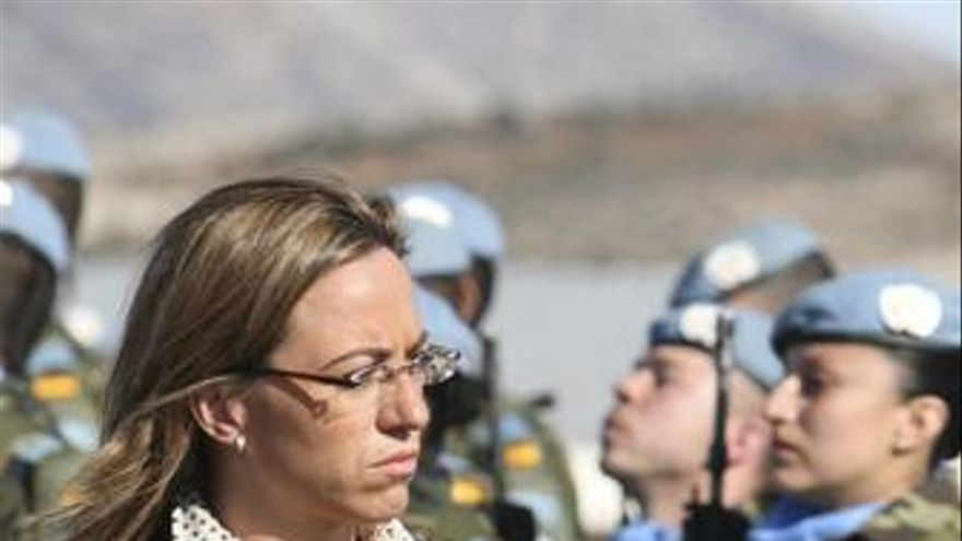 Ministra de Defensa, Carme Chacón
