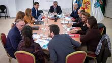 Consejo de Gobierno celebrado en La Graciosa