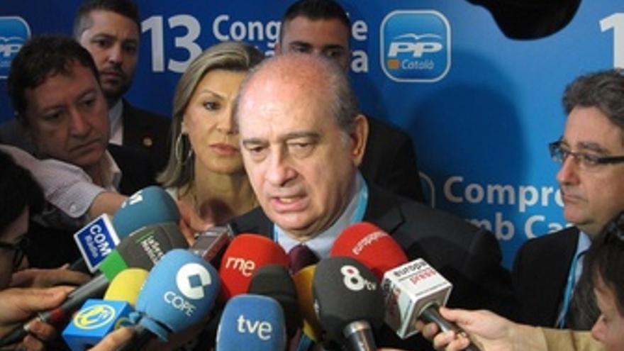 Jorge Fernández Díaz En El Congreso Del Pp Catalán