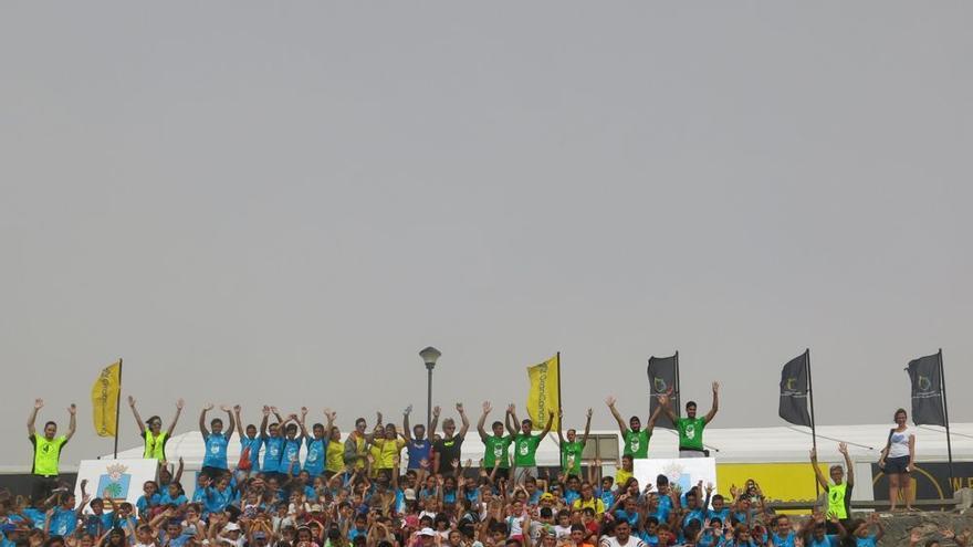 Santa Lucía, reconocida como Ciudad Europea del Deporte 2018.