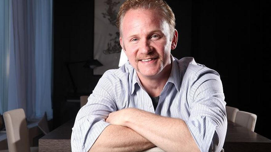 Morgan Spurlock, de 'Super Size Me'