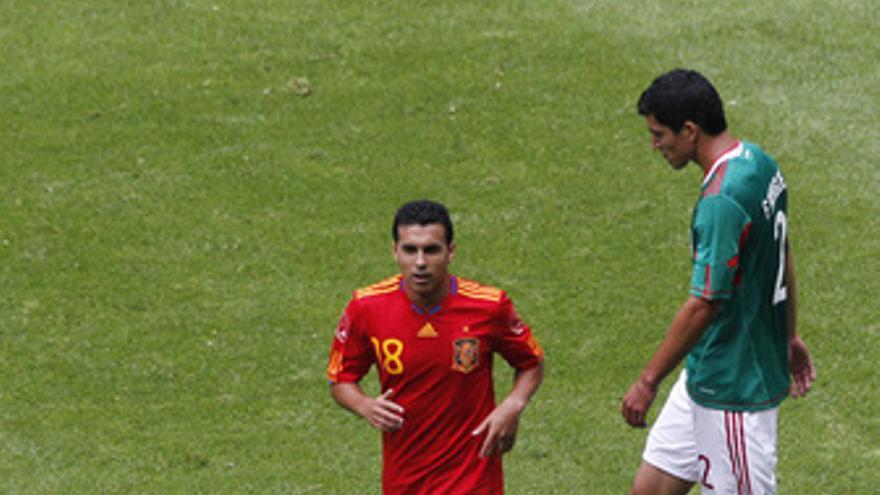 España vence a México