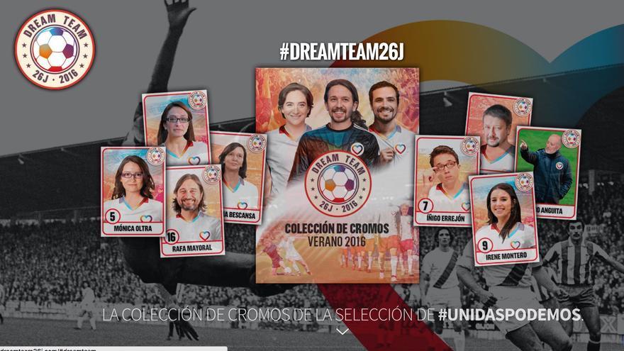 Cromos del dreamteam26j.com.