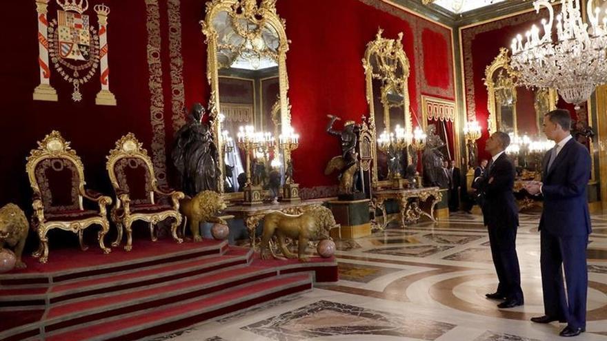 El Rey y Obama confirman los lazos de colaboración entre España y EEUU