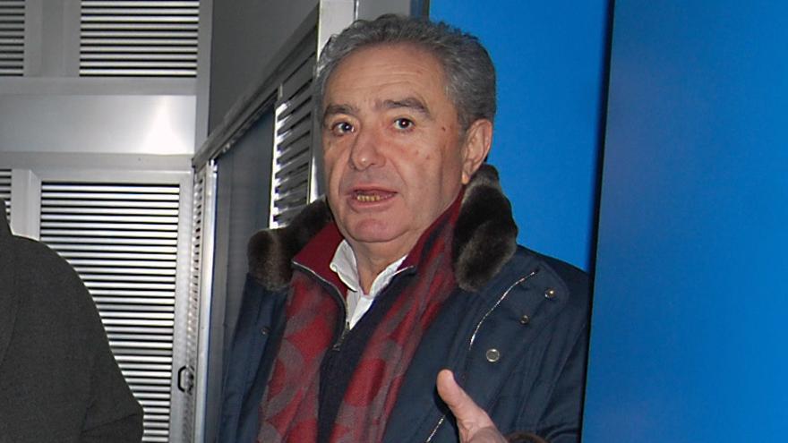 José Luis Gavilanes, alcalde de Xunqueira de Ambía, en una imagen de archivo