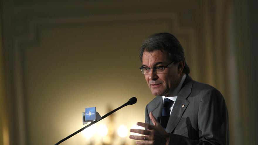 """Mas dice que Cataluña necesita ser Estado porque no ha podido hacer del español un """"Estado amable en el que encajar"""""""