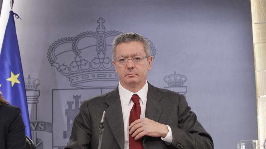 """Gallardón seguirá """"trabajando"""" para alcanzar un acuerdo en la renovación del CGPJ antes de mañana"""