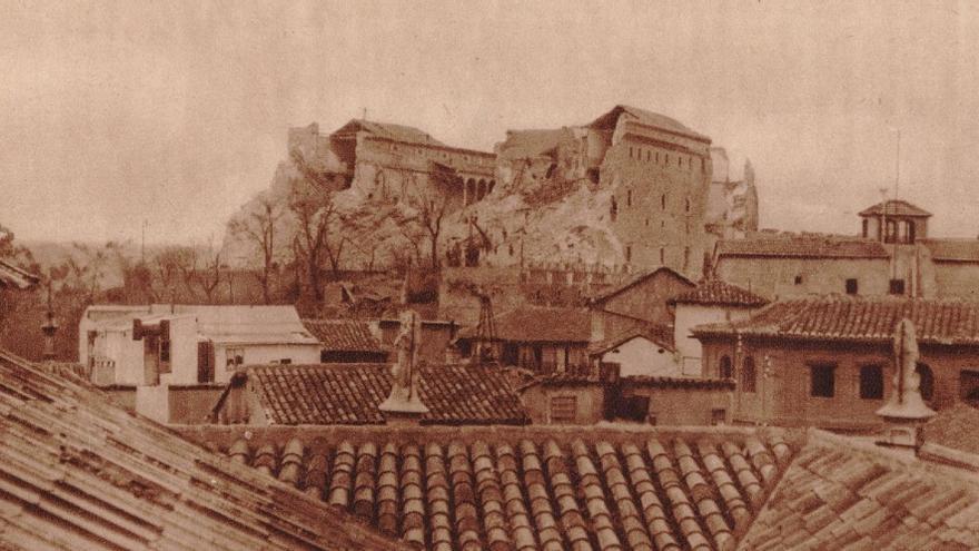 Alcázar de Toledo en la Guerra Civil