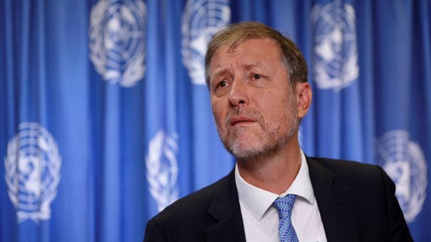 En la imagen, el representante en América del Sur de la Oficina de las Naciones Unidas para los Derechos Humanos, Jan Jarab.