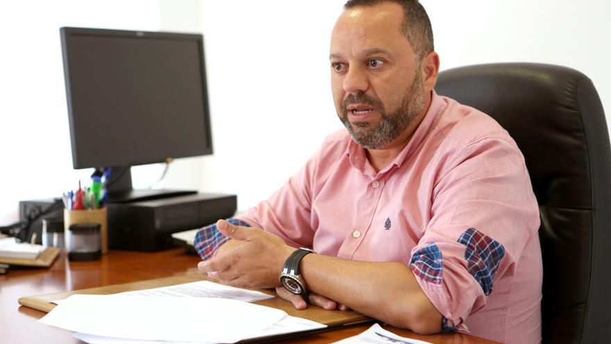 Jacinto Ortega, concejal de Cohesión Social de Las Palmas de Gran Canaria.