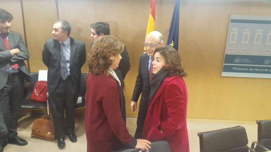Pilar Blanco-Morales Soraya Sáenz Santamaría