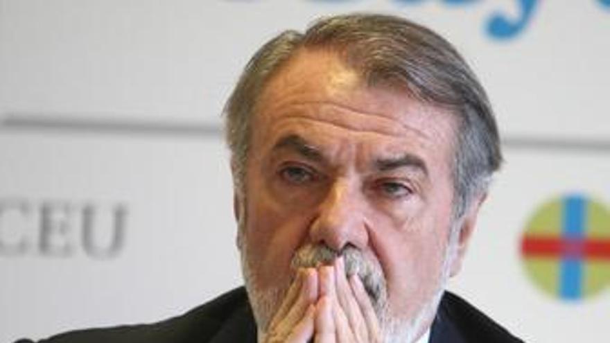 Portavoz del Grupo Popular en el Parlamento Europeo, Jaime Mayor Oreja