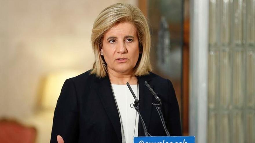 Fátima Báñez, exministra de Empleo del PP.