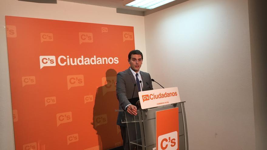 El presidente de Ciudadanos, Albert Rivera. / Andrés Gil