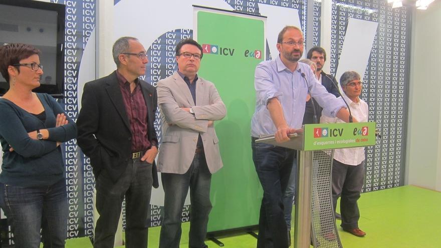 ICV-EUiA aboga por una coalición el 20D con Podemos y Bcomú liderada por un independiente