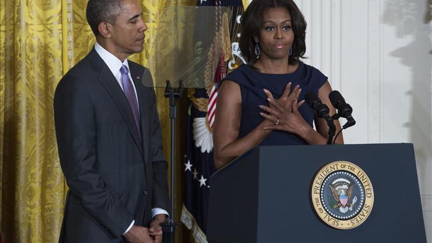 Los Obama ponen a un joven hispano como ejemplo de superación personal