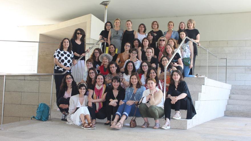 Participantes en el acto fundacional de 'Xornalistas Galegas'