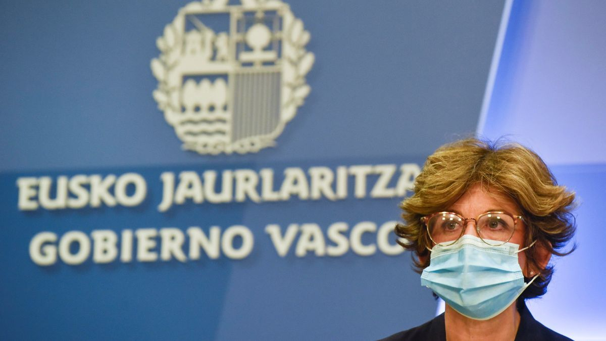La consejera de Salud en funciones del Gobierno vasco, Nekane Murga.