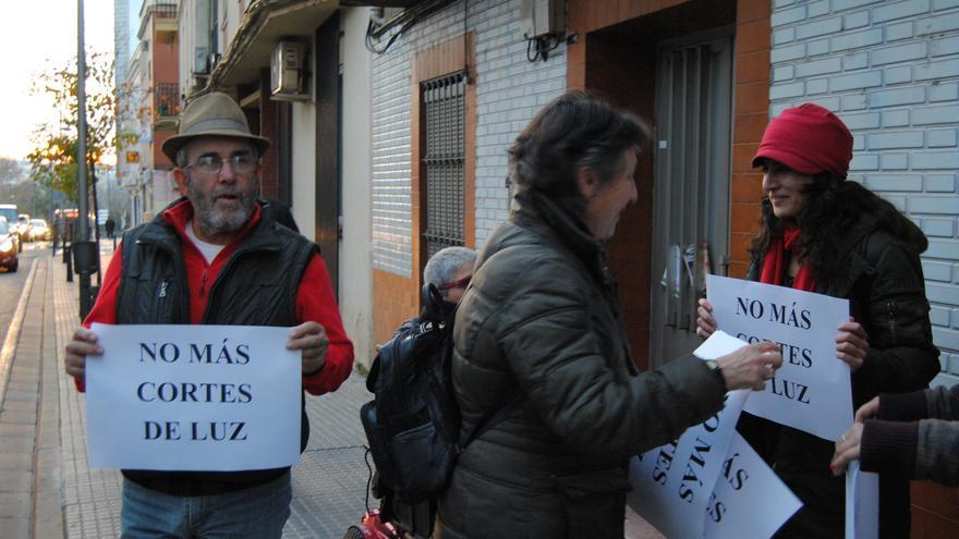 Protesta en Mérida reclamando que no haya más cortes de luz / JCD