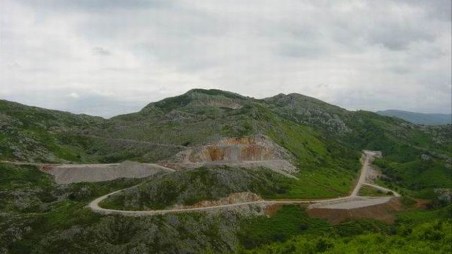 Cantera en el Monte Dobra. | ARCA
