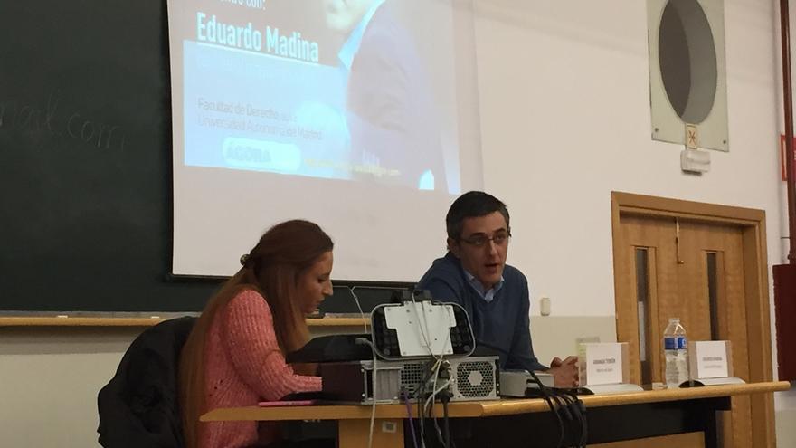 """Madina cree que la reforma constitucional no es la """"fórmula mágica"""" para solucionar el independentismo"""