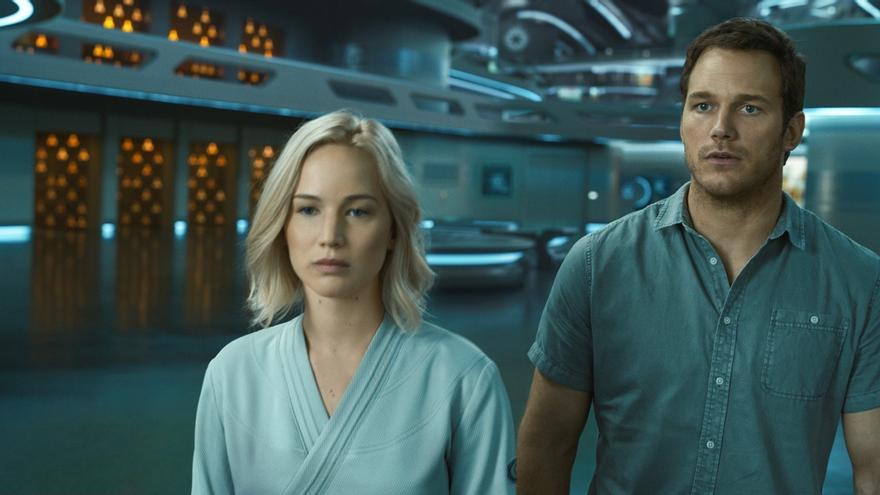 1 'Passengers' tiene algo de versión futurista y espacial de 'La bella durmiente'.jpg