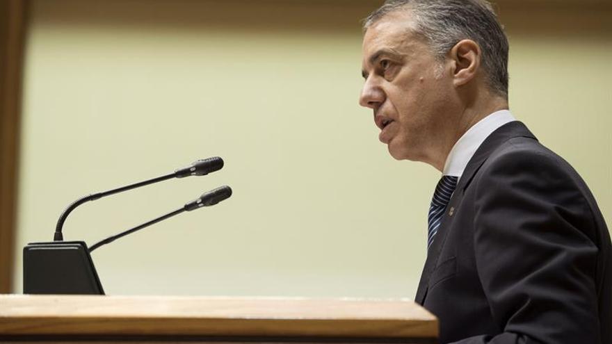 """Urkullu plantea un """"nuevo pacto estatutario"""" ratificado por la sociedad vasca"""