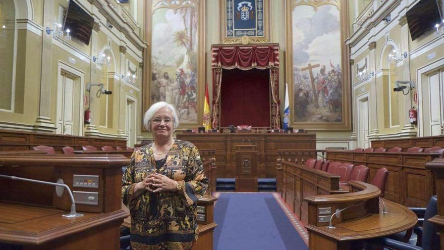 María Victoria Hernández, diputada del PSOE por La Palma en el Parlamento de Canarias y portavoz de Cultura del grupo Socialista.