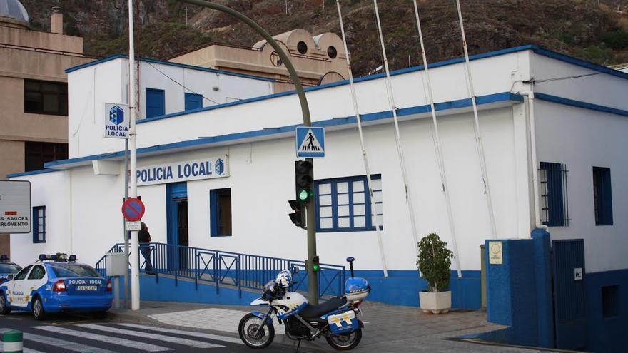 En la imagen, sede de la Policía Local de Santa Cruz de La Palma.