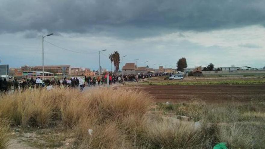 Marcha contra el PGOU de 2015 en Castellar-Oliveral