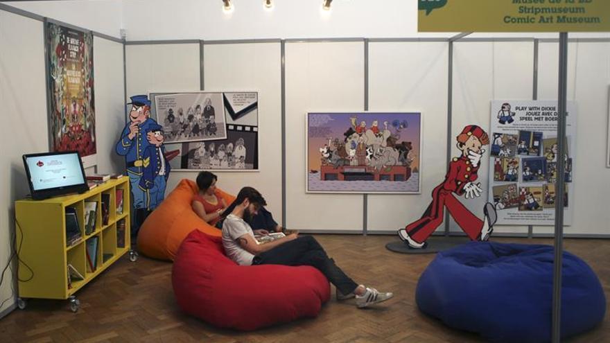 """Bruselas se rinde al noveno arte en su """"Fiesta del Cómic"""""""