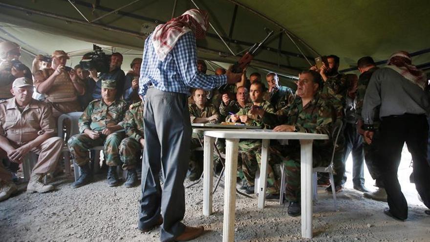 Acuerdo para acabar con la presencia del EI en el este de Hama en Siria