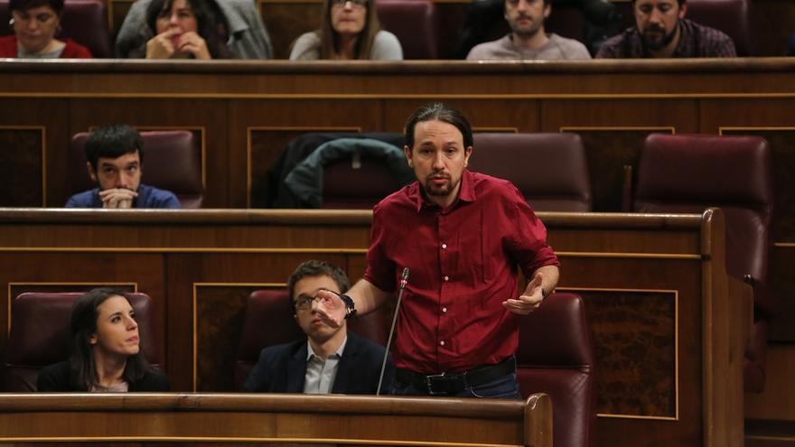 "Iglesias critica que se juzgue a Forcadell pero avisa de que si el tribunal decide inhabilitarla ""quedará inhabilitada"""