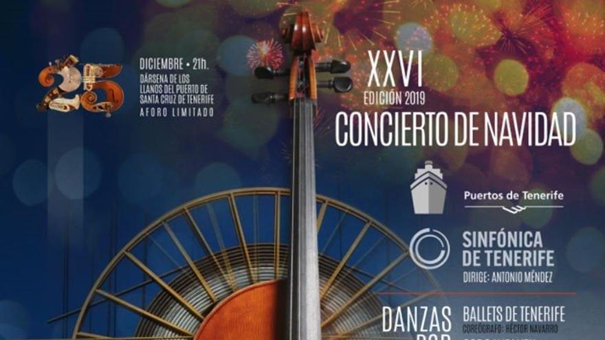 Tradicional 'Concierto de Navidad' en Santa Cruz de Tenerife.