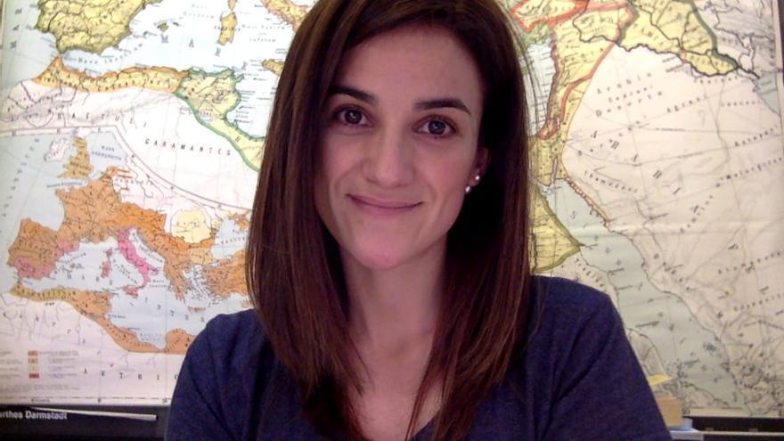 Carla Setién está en su cuarto año de Doctorado en Humanidades