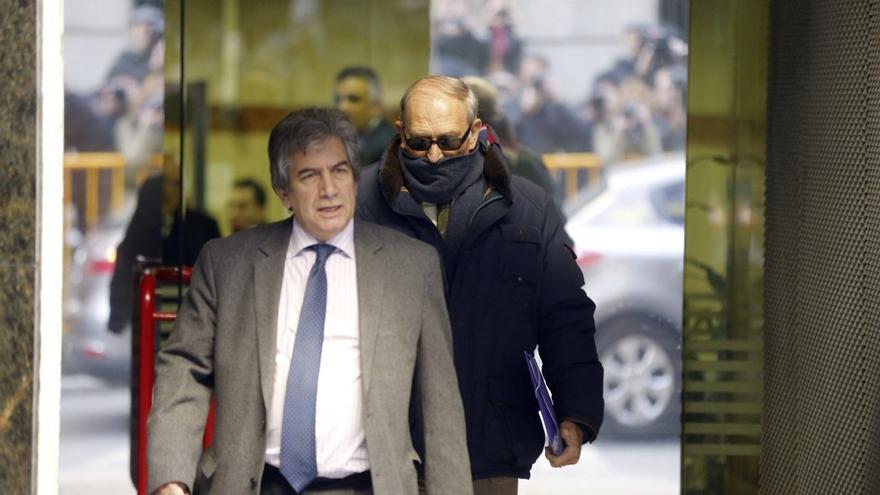 Jesús Muñecas, a su salida de la Audiencia Nacional. \ Efe