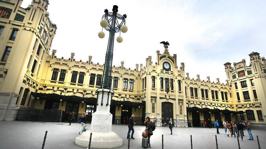 La estación del Norte, en Valencia
