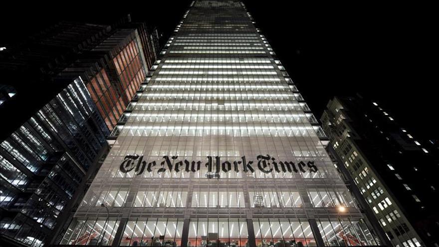 Los ingresos del The New York Times bajaron un 0,6 por ciento en 2015