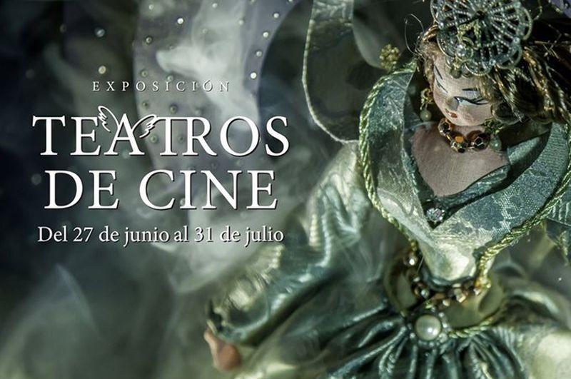 Expo: los Teatros de cine del diseñador Diego Almoguera en la Biblioteca de Barceló