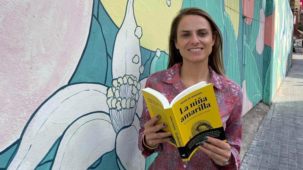 María de Quesada, autora del libro 'La niña amarilla'.